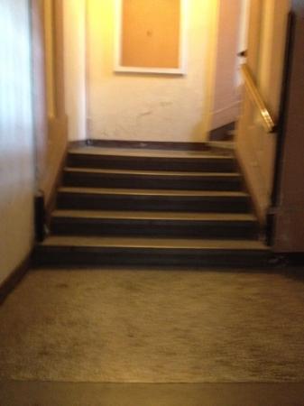Galeria River: escaleras
