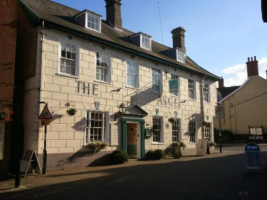 The Angel Hotel: Angel Inn from The Thoroughfare