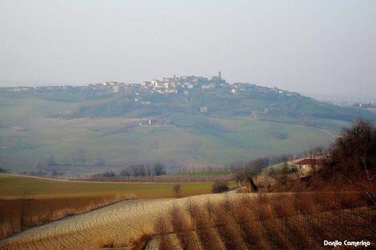 Strada Panoramica tra Cuccaro Monferrato e Lu