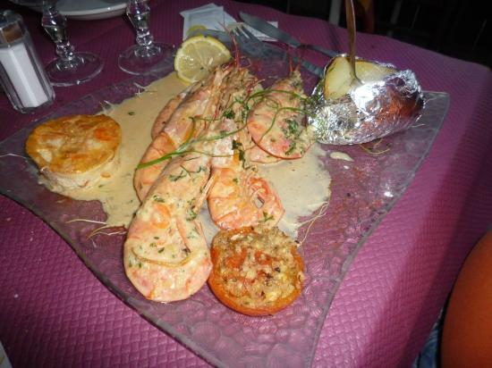 Chez Arlette : food