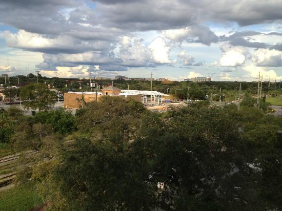 Hyatt Place Busch Gardens: View from Room 623.