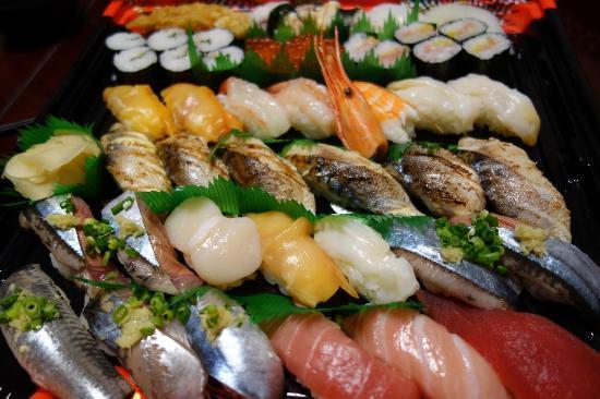 Totomatsuri Gyotokuten : お好み持ち帰り寿司