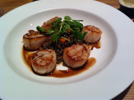 The Kilberry Inn : the signature dish cooked to perfection