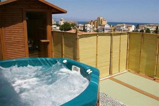 Hotel La Luna Blanca: jacuzzi
