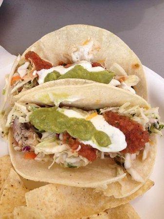Kauai Food Truck: Ahi tacos!