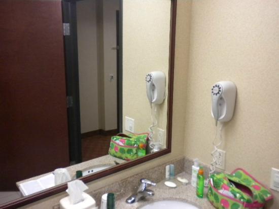 Comfort Inn & Suites Las Vegas: banheiro