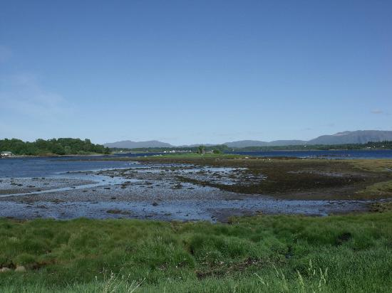 Dalrannoch Farm Bed and Breakfast : The view