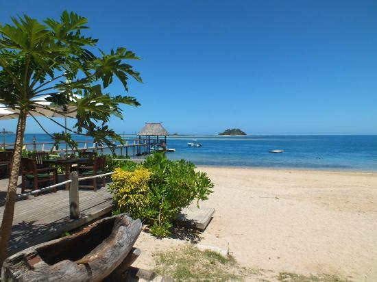 Malolo Island Resort: View from bure 9