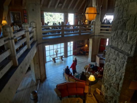 Timberline Lodge: Great room in lodge