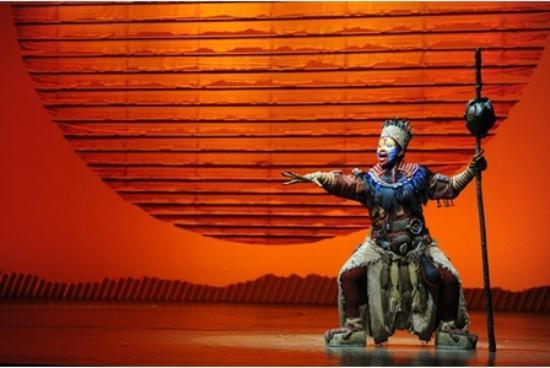The Lion King at Bristol Hippodrome: Rafiki great singer