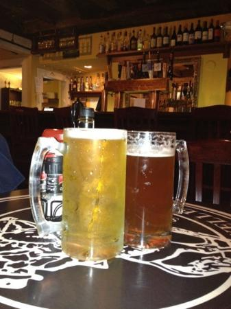 Newes From America Pub: Beers at Newes