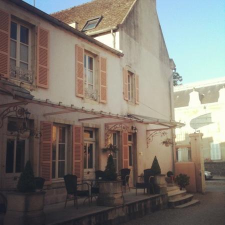Hôtel les Charmes : vistas desde mi habitación