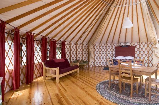 Treebones Resort : Spacious, well designed interior