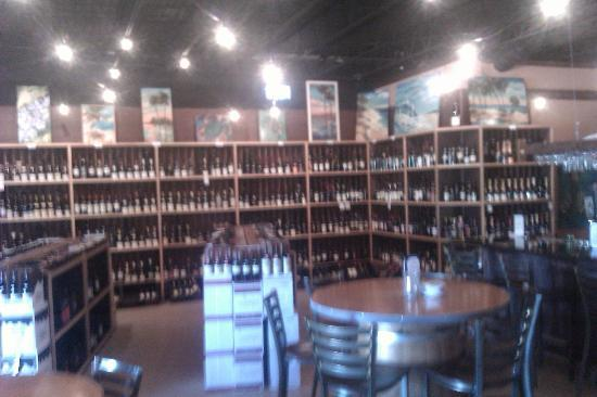 Royal Palm Village Wine & Tapas : Wine Wall