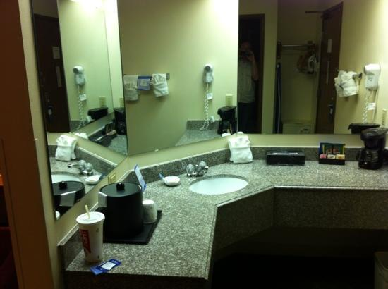 Baymont Inn & Suites Conroe/The Woodlands: nice bath area