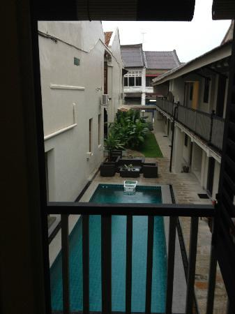 Noordin Mews: View from my room. (Room M)