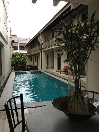 Noordin Mews: Lap pool.