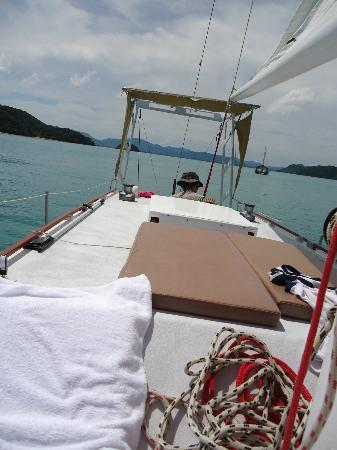 SweetDreamers Charters - Private Day Trips: Igor at the helm