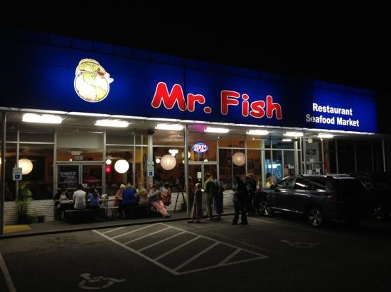 Fantastic and creative seafood picture of mr fish for Mr fish myrtle beach sc