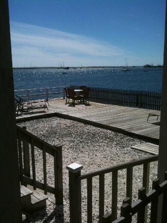 Bayshore/Chandler House: View from private deck