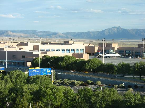 view of mountains beyond abq wow picture of sheraton. Black Bedroom Furniture Sets. Home Design Ideas