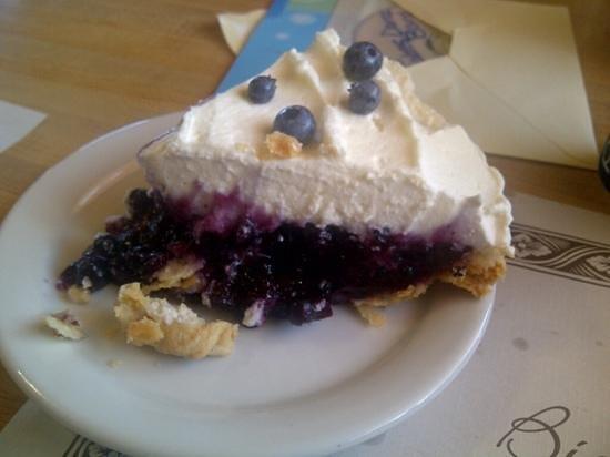 Birch Grove Restaurant & Take-out: blueberry cream pie