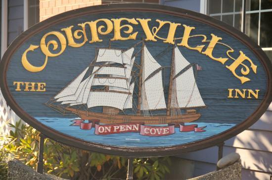 The Coupeville Inn: Coupeville inn sign