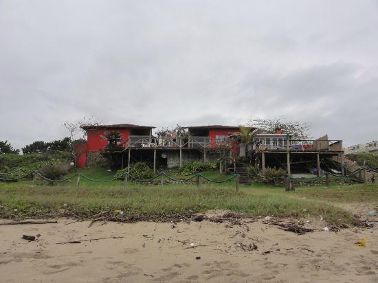 Barra Velha: Faixada pousada