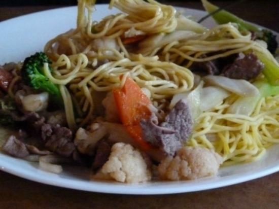 Vietnamese Noodle House : Salty beef and blend noodles