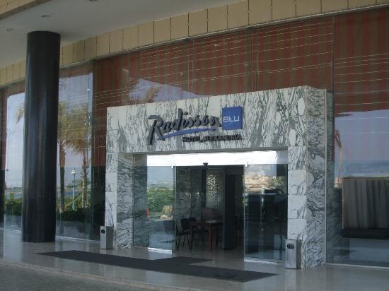 Radisson Blu Hotel, Alexandria: Welcome to the Radisson BLU
