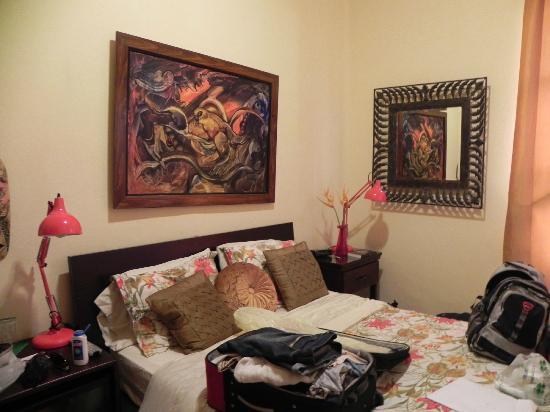 Hotel Casa 69: Dormitorio