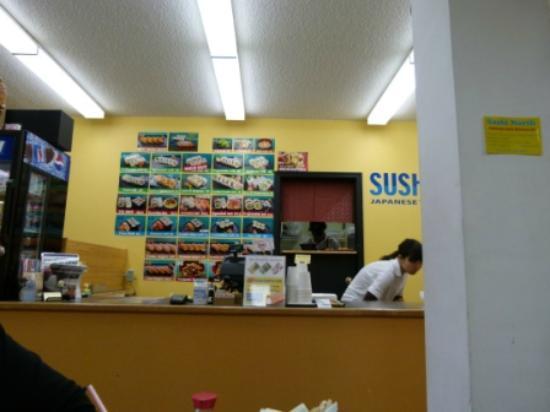 Sushi North: Order counter