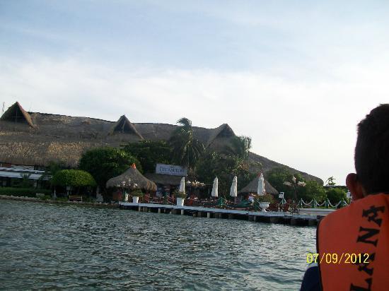 Decameron Isla Palma : Llegando al Hotel....
