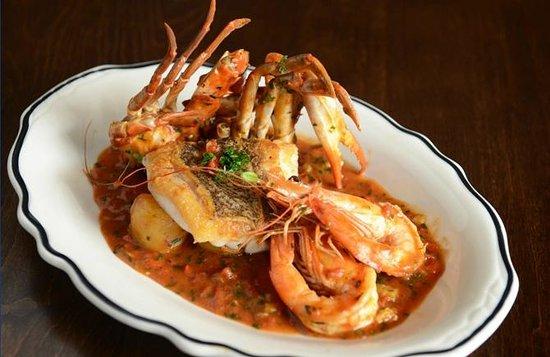 Cask & Larder: Blue Crab and Shrimp