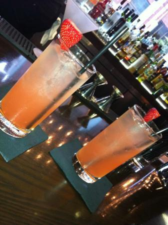 Thompson Toronto - A Thompson Hotel: Love a good improvisational bartender. House squeezed grapefruit juice, Belvedere, strawberries,