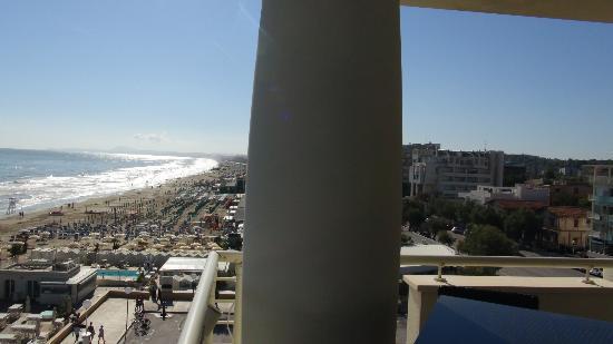 vista di senigallia dalla terrazza dell\'hotel - Foto di Terrazza ...