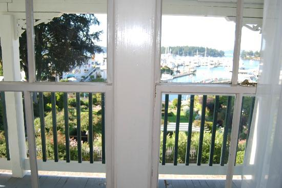 Hotel de Haro at Roche Harbor Resort: View from room 3B