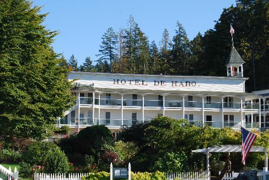 Hotel de Haro at Roche Harbor Resort: De Haro Hotel built in 1886