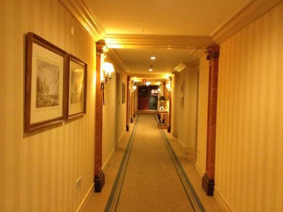 Hotel Kamp: Hall way on 8th floor