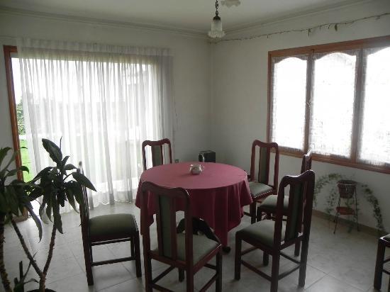 Forastero Guest House: Pequeño comedor