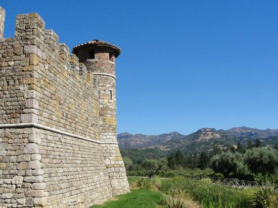 Castello di Amorosa: Castle view