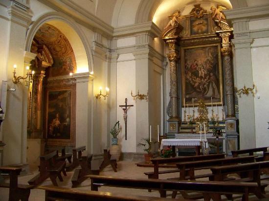 San Lodovico Institute: Church