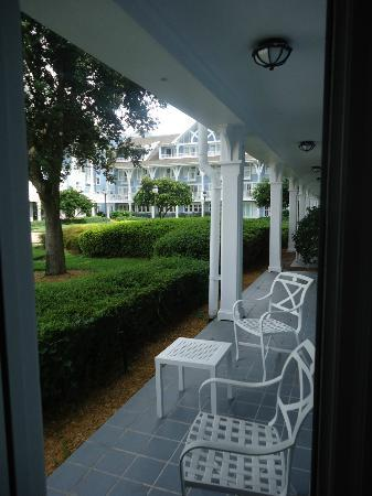 Disney's Beach Club Resort: View from patio