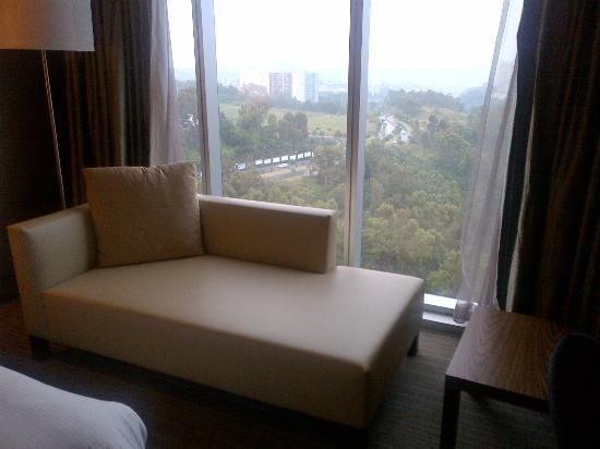 The Westin Santa Fe Mexico City: View from Room