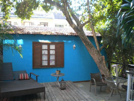Quinta Azul Boutique Pousada: espace piscine