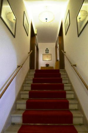 Alloggi alla Scala: stairway to the rooms