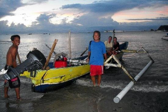 Mimpi Manis Kuta Lombok - Fishing Trip : Setting Off at Sunrise