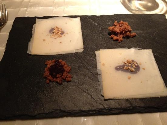 The Royce at The Langham: cheese dish