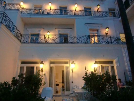 Hotel Excelsior Parco: Gartenseite