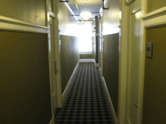 The Mosser: hallway